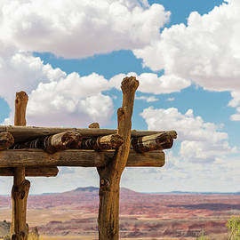 Painted Desert View by Morris Finkelstein