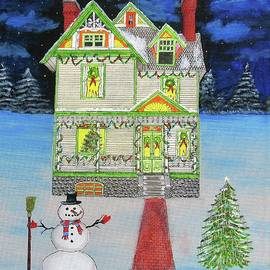 Painted Lady Christmas by Gordon Wendling
