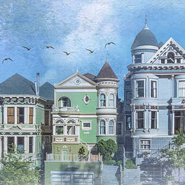 Painted Lady Row by Patti Deters