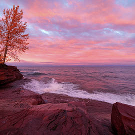 Painted Skies Over Red Rocks Two by Rachel Cohen