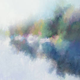 Painterly Canal by Terry Davis