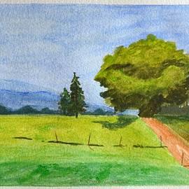Painting Landscape 1 by Sonali Gangane