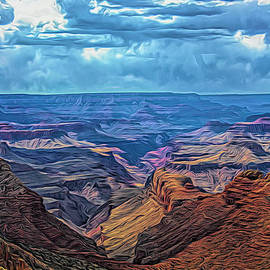 Paintography Grand Canyon Creative Series 2021  by Chuck Kuhn