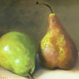 Pair Of Pears II by Anne Barberi