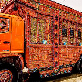 Pakistan truck art by Daniyal Ashraf