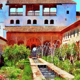 Palacio de Generalife Alhambra by Tatiana Travelways