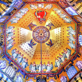 Palatine Chapel Mosaic Ceiling, Aachen Cathedral by Douglas Taylor
