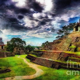Palenque Mexico by Jerzy Czyz