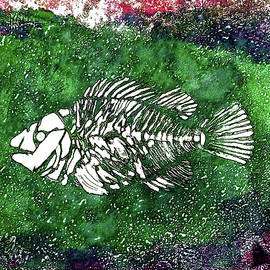 Paleo Fish #2 by Bellesouth Studio