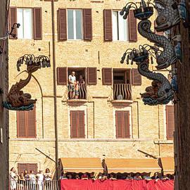 Palio di Siena by Andrew Cottrill