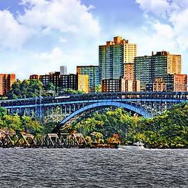 Palisades Interstate Park - Henry Hudson Bridge by Susan Savad