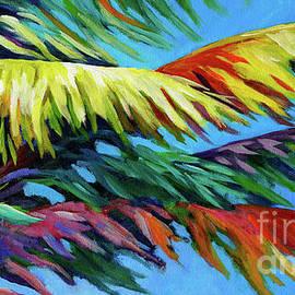 Palm Frond Frenzy by John Clark