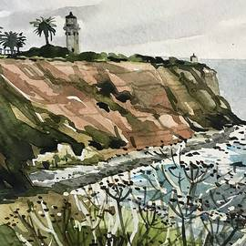 Palos Verdes Lighthouse by Luisa Millicent