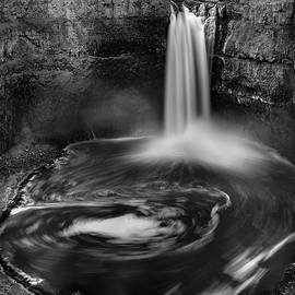 Palouse Falls BW 4-21 by Mike Penney