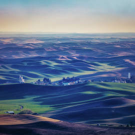 Palouse Land 017 by Mike Penney