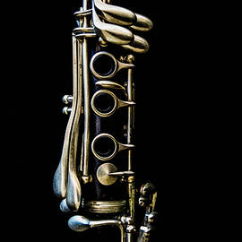 Panache Minimalist Clarinet Photo Vertical Version by Nancy Jacobson