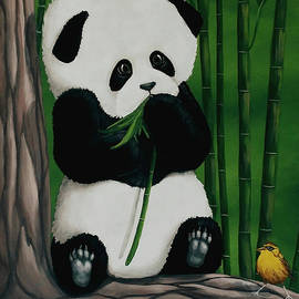 Panda and Friend  by Danett Britt