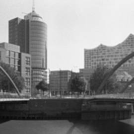 Panorama of Hamburg - Germany XXIV by Marcio Faustino