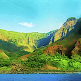 Panorama of Kauai Hawaii - DWP1567227 by Dean Wittle