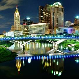 Panoramic 2021 Columbus Ohio by Frozen in Time Fine Art Photography