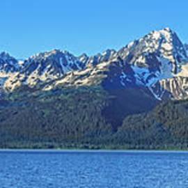 Panoramic View Of Kachemak Bay by Robert Bales