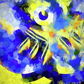 Pansy Abstract by Diana Mary Sharpton