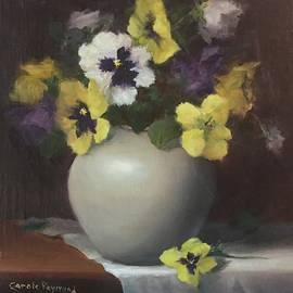Pansy in a Pot by Carole E Raymond