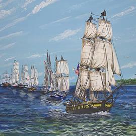 Parade of Sails by Rick Mcclelland
