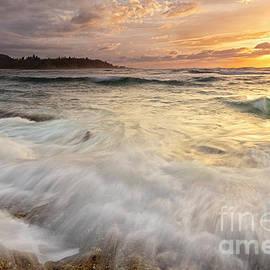 Paradise Sunset Surge by Mike Dawson