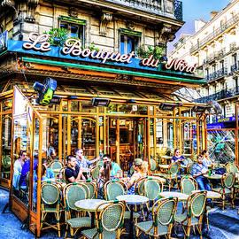 Paris Cafe Culture by Paul Thompson