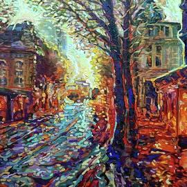 Paris In Rain by Aleksandr Muha