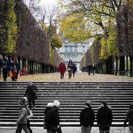 Paris in the Fall by Robert Yaeger