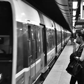 Paris Metro by Neil R Finlay