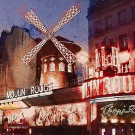 Paris. Moulin Rouge. by Alex Mir