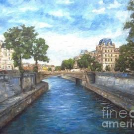 Paris, Seine by Helen Sviderskis