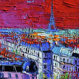 PARIS VIEW - Printemps Rooftop Terrace by Mona Edulesco
