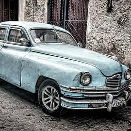 Parked in Havana Vieja by Claude LeTien