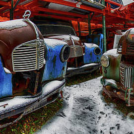 Parked In The Rust Zone by Bob Christopher