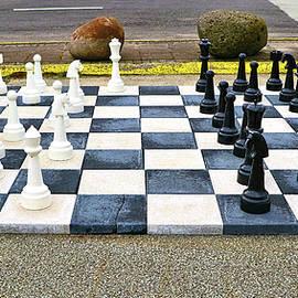 Parking Lot Chess by Allen Beatty