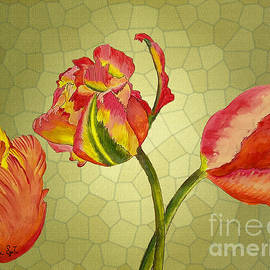 Parrot Tulips by Stella SzeTu