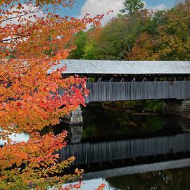 Parsonsfield-Porter Covered Bridge by Jeff Folger