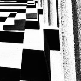 Shadows at the Parthenon by Richard Perry