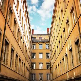 Passage Thiaffait Lyon France  by Carol Japp