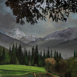Pasture in the Mountains by Bill Dunkley