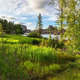 Path To Sylvan Lake by Lorraine Baum