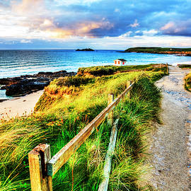 Path To The Sea, Gwithian, Cornwall by Paul Thompson