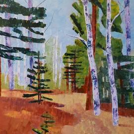 Path with Aspen III by Susan Tormoen