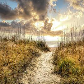Pathway into Sunrise by Debra and Dave Vanderlaan