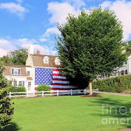 Patriotism on Leyden Street by Janice Drew