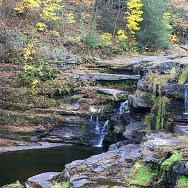 Paupack High Falls by Living Color Photography Lorraine Lynch